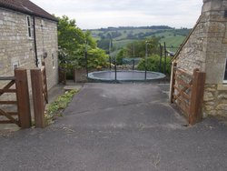 Neighbourhood storage/classic car storage: Forecourt space #2, Englishcombe, Bath and North East Somerset, BA2