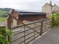 Neighbourhood storage/bicycle storage: Lockable outbuilding #2, Englishcombe, Bath and North East Somerset, BA2
