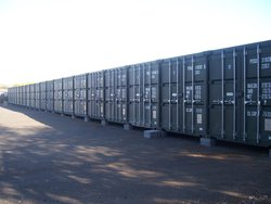 Self storage: Container self storage in Exeter. Easy access, Exeter, Devon, EX2