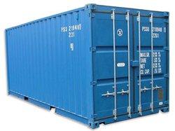 Self storage: Self storage containers at Vale Storage, Llandow, Vale of Glamorgan, CF71
