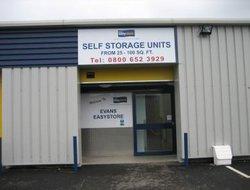 Self storage: Evans Easyspace Self Storage, Newton Aycliffe, Newton Aycliffe, County Durham, DL5