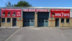 Commercial storage/archive storage: Self Storage Rooms near Crawley, Brighton, Brighton and Hove, BN2
