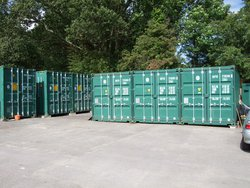 Self storage: rj self storage containers in fareham, Fareham, Hampshire, po15