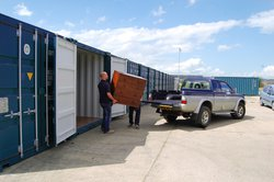 Self storage/shipping container: Avonmouth Self Storage, Bristol, Bristol, BS11