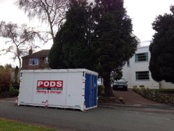 Commercial storage/document storage: PODS Moving & Storage Ltd, Manchester, , Manchester, M12