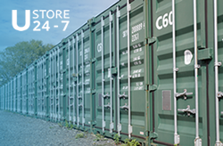 Self storage: Container self storage in Chelmsford, Rettendon Common, Essex, CM3