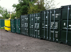 Self storage/shipping container: Ninepound Storage Bristol. BS16 7NT, Emersons Green, South Gloucestershire, BS16