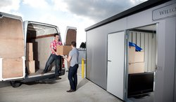 Self storage: UK Storage Company, Taunton, Norton Fitzwarren, Somerset, TA2