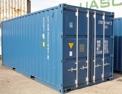 Vehicle storage/shipping container: Container storage, Lanarkshire, Cleghorn, South Lanarkshire, ML11