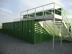 Vehicle storage/shipping container: Waxholme Storage Unit, Withernsea, Waxholme, East Riding of Yorkshire, HU19