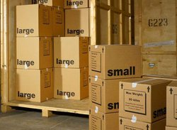 Managed storage/containerised storage: Big Red Removals and Storage, , London, SW11