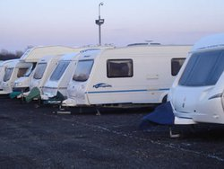 Vehicle storage: Carahill Caravans, Seamer, North Yorkshire, TS9