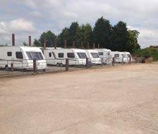 Vehicle storage: Midland Caravan Storage, Abbots Bromley, Staffordshire, WS15