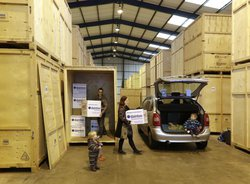 Managed storage/general household items: Secure Crate Storage In Ivybridge Near Plymouth, Ivybridge, Devon, PL21