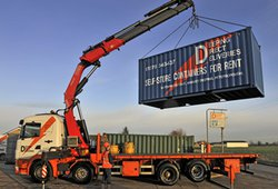 Managed storage/mobile storage pod: Container rental for storage, Market Deeping, Lincolnshire, PE6