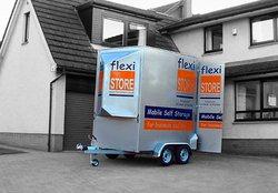 Managed storage/mobile storage pod: Flexistore, Mobile Self Storage, Domestic, Student Storage, Edinburgh, Edinburgh, Edinburgh, EH2