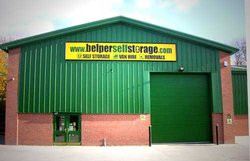 Self storage: Belper Self Storage, Belper, Derbyshire, DE56