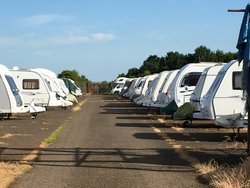 Vehicle storage/motorhome storage: Caravan Storage Banbury, Shenington, Oxfordshire, OX15
