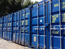 Self storage: Eastbourne's newest shipping container storage yard, Westham, Pevensey, BN24