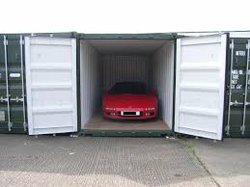 Commercial storage/shipping container: Self storage containers in Stafford, Stafford, Staffordshire, ST17
