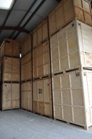 Managed storage: Wooden Storage Containers, , , BA14
