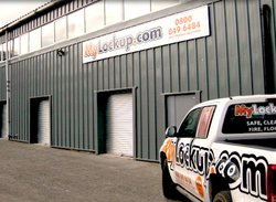 Commercial storage: My Lock Up - Commercial self storage in Thirsk, Topcliffe, North Yorkshire, YO7