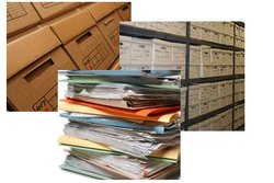 Commercial storage/specialist storage: Document storage in Ashington, Ashington, West Sussex, RH20