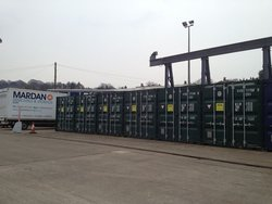 Self storage: Secure container storage in Bath, Bath, Bath and North East Somerset, BA2