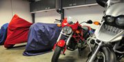 What to look for: motorbike storage