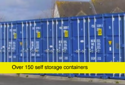 Self storage/shipping container: Newquay Self Storage, Newquay, Cornwall, TR7