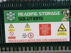 Commercial storage: Business self storage in Reading, , Reading, RG4