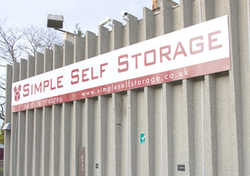 Self storage/storage units: Simple Self Storage in Leicester, Wigston, Leicestershire, LE18