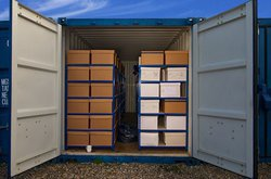 Self storage: Spaces and Places Storage, Manchester, Whitefield, Manchester, M45