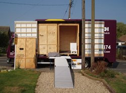 Managed storage: Monarch removals and storage, Essex, Upminster, Greater London, RM14