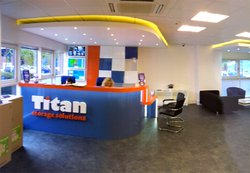 Commercial storage/workspace & storage: Titan Business Storage in Braintree, Great Notley, Essex, CM77