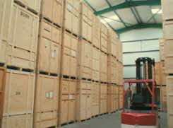 Managed storage/containerised storage: Removals & storage, London area, Iver, Buckinghamshire, SL0