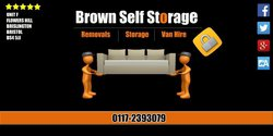 Self storage: Brown Self Storage, Bath Road , Bristol, Bristol, BS4